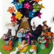 Presépio Natal Árvore