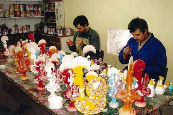 Os Irmãos Baraça, no seu atelier