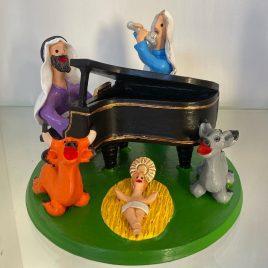 Presépio no Piano